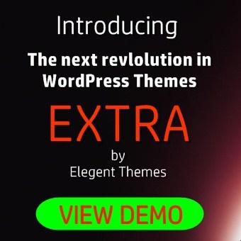 elegant themes extra theme demo and Extra theme discount code 2019